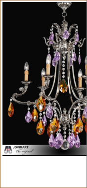 lamparas / chandeliers CRYSTAL